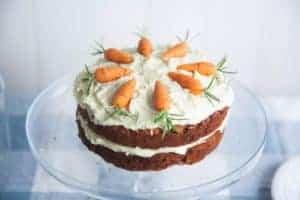 Raw food carrot cake recipe