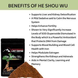 Benefits of He Shou Wu