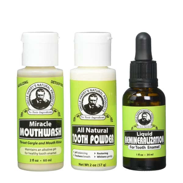 Trio Remineralization Kit for Tooth Enamel & Mineral